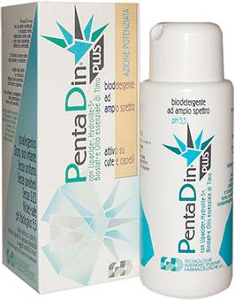 Pentadin Plus Biodetergente è un sapone Antimicotico e Antibatterico
