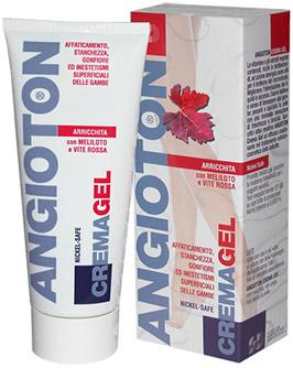 Angioton Crema Gel contrasta il gonfiore alle Gambe e l'affaticamento