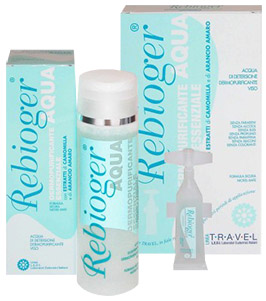 Rebioger Aqua per la pulizia del viso con effetto Antiaging